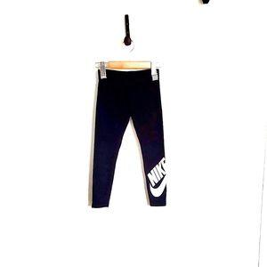 Nike Leggings Girl's Black XS